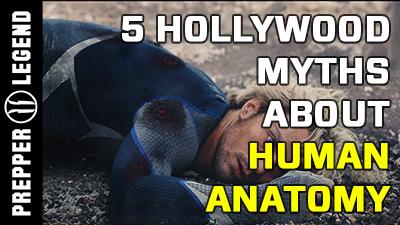 5 Hollywood Myths about Human Anatomy