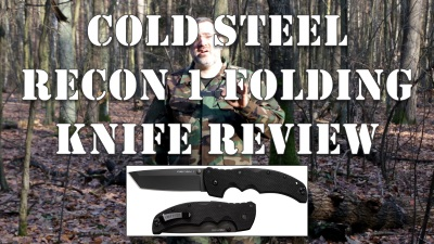 Cold Steel Recon 1 Folding Knife Review