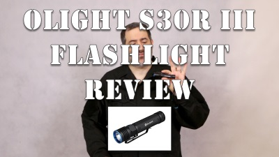 Olight S30R Tactical Flashlight Review