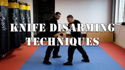 Knife Disarming Techniques