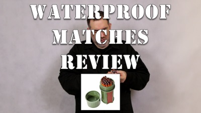 Waterproof Matches Review