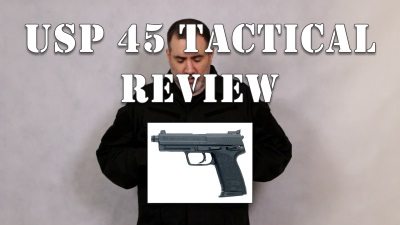 USP 45 Tactical Pistol Review
