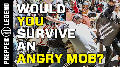 Would You Survive an Angry Mob?