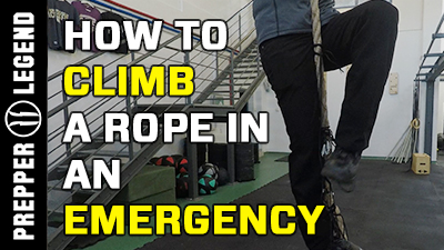 How to Climb a Rope in an Emergency